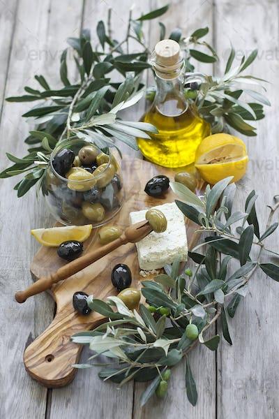 Olives an olive oil