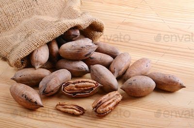 Sack bag  with nuts