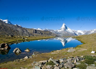 Stelisee with the Matterhorn