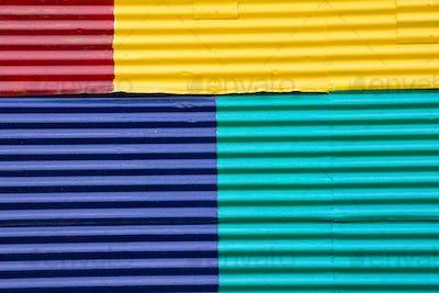 Wall in La Boca, Buenos Aires
