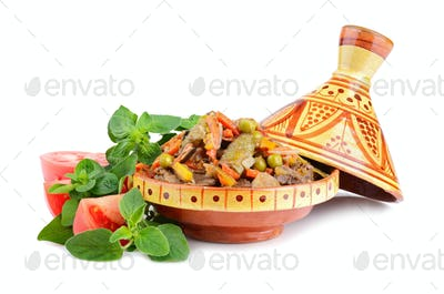Tajine with meat