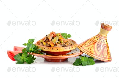 Meat in tajine