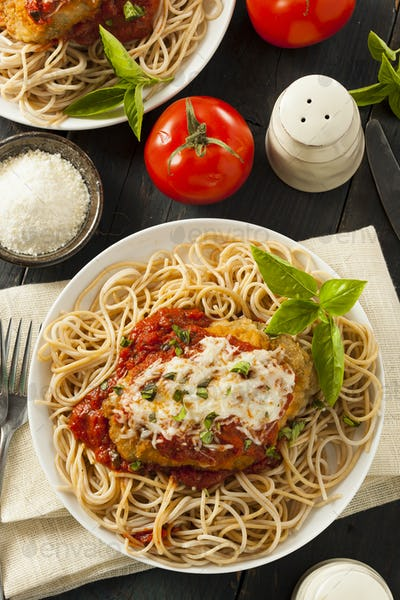 Homemade Italian Chicken Parmesan