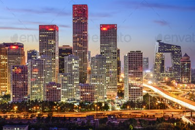 Beijing Financial District