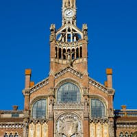 Hospital de la Santa Creu in Barcelona