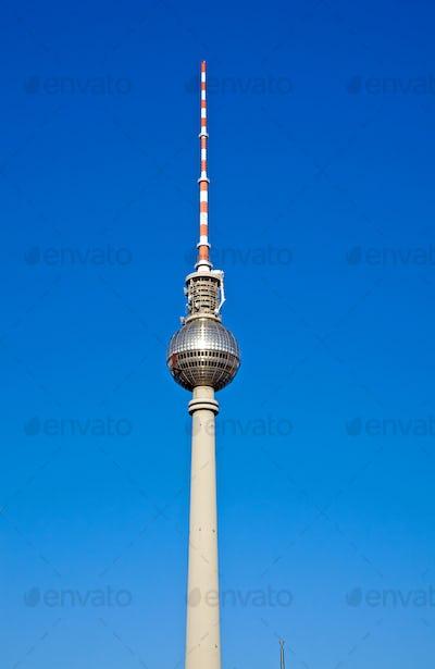 Television tower on Alexanderplatz