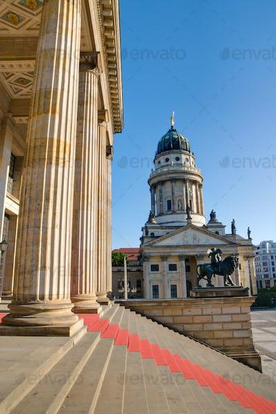 Columns at the Gendarmenmarkt